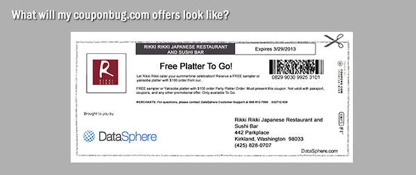 picture regarding Coupon Bug Printable Coupons called LocalSaver Community Companions DataSphere