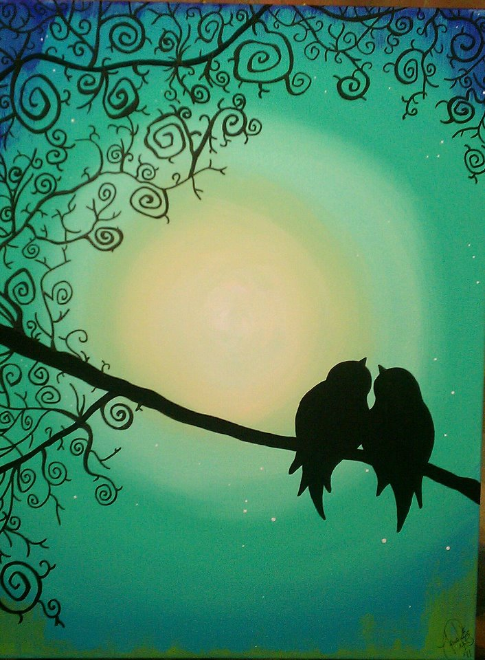 Love Birds Silhouette Pictures to Pin on Pinterest - PinsDaddy