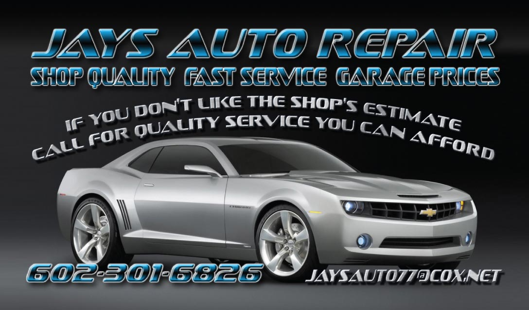 Coupon Wallet - Jays Auto Repair coupon for free check