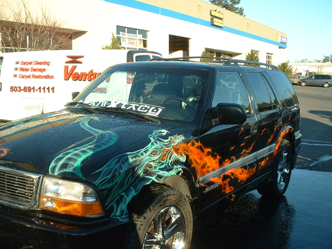 100 off full paint job clackamas auto body in for Full body paint job