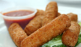 Baytown Fried Cheese Sticks