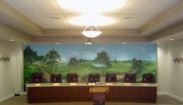 Crestview Commercial Murals
