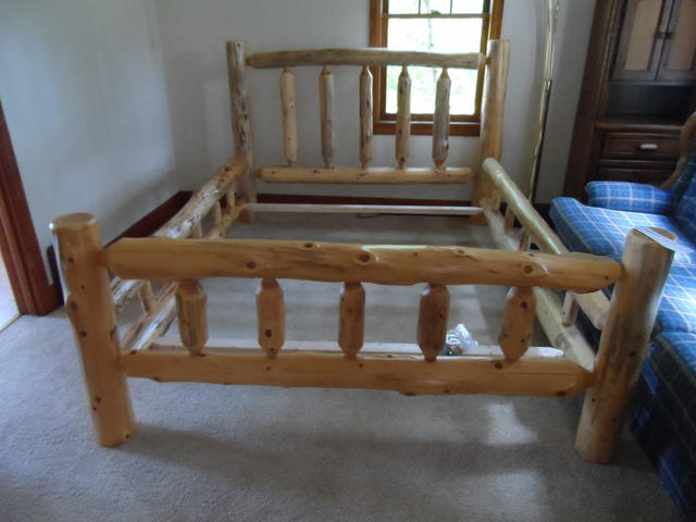 I Carry A Full Line Of Indoor Cedar Log Furniture. Beds, Bunk Beds,  Dressers, Chest, Night Stands, Futons, End Tables, Coffee Tables, Desk Tv  Stands, ...