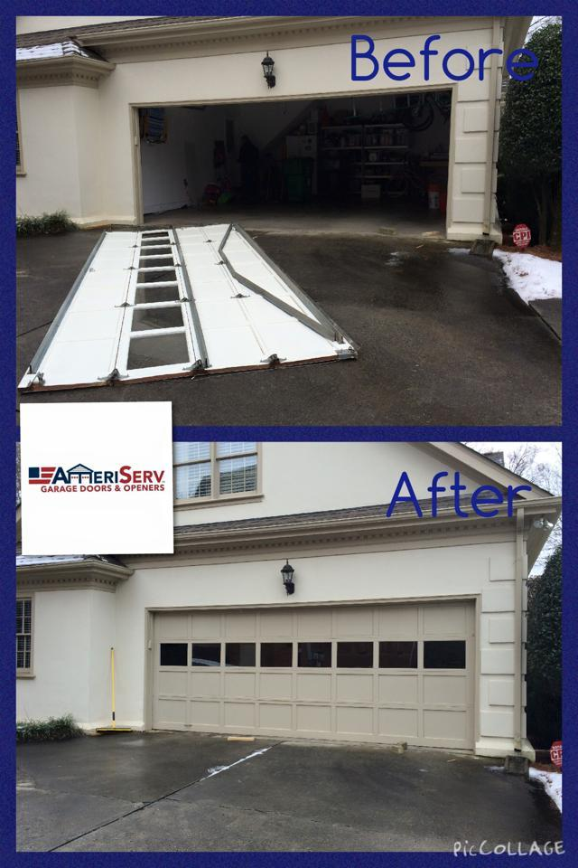 charlotte new and door garage residential openers ameriserv nc doors gastonia