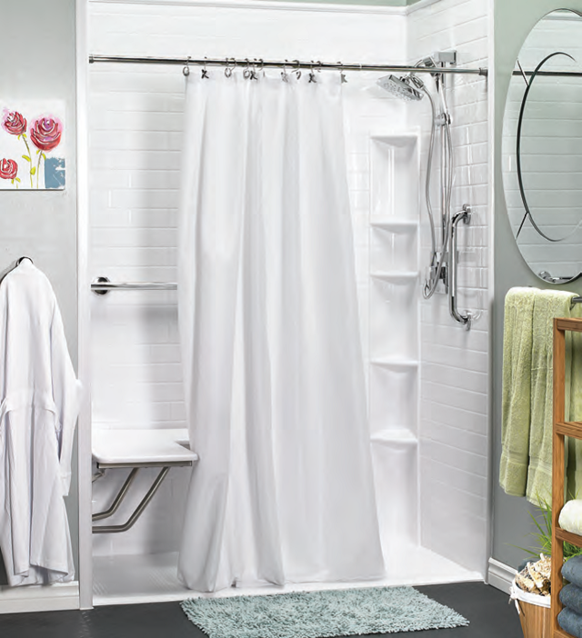 Bath Fitters Showers Part - 50: Explore Our Bath Remodeling, Shower Remodeling And Tub-to-shower Conversion  Services And See Why A BATH FITTER Bathroom Makes All The Difference.
