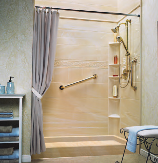 Bath Fitters Showers Part - 34: Explore Our Bath Remodeling, Shower Remodeling And Tub-to-shower Conversion  Services And See Why A BATH FITTER Bathroom Makes All The Difference.